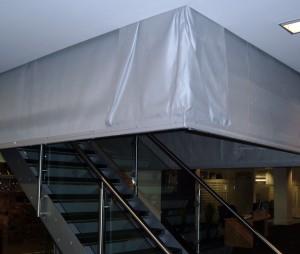 Corner Unit Curtains