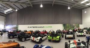 Fixed Curtain - Caterham Cars (1)