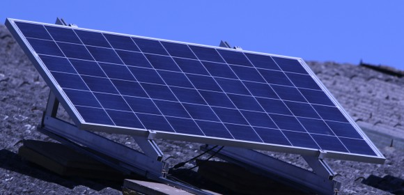 Solar Panel for Solar Powered Fire Curtains