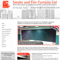 Smoke and Fire New Homepage